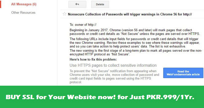 SSL certificate in pakistan